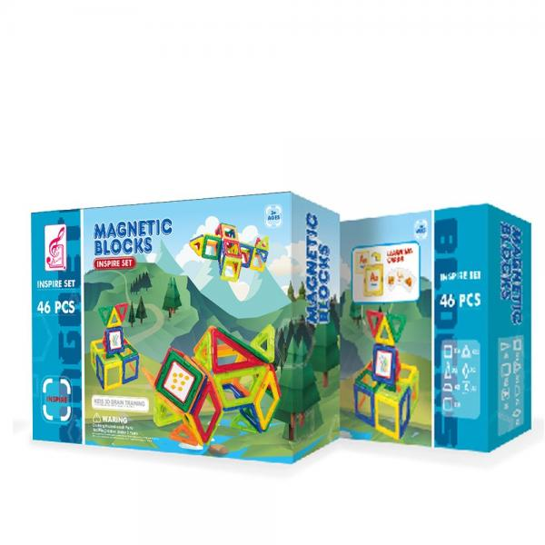 MAGNETIC BLOCKS КОНСТРУКТОР 46 ЧАСТИ
