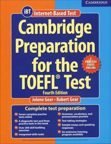 Cambridge Preparation for the TOEFL Test - Fourth Edition: Помагало + онлайн тестове
