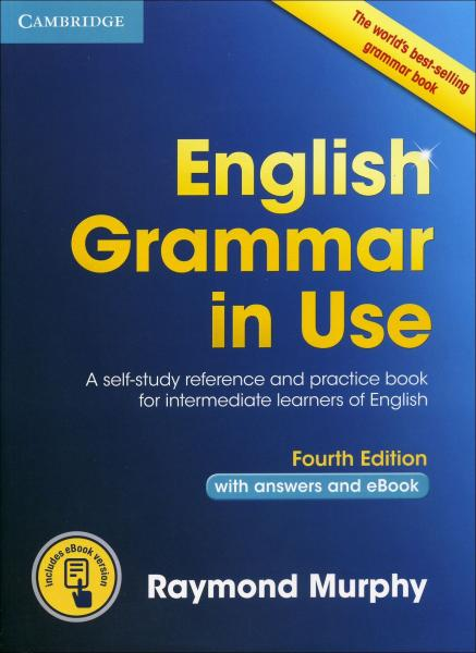 English Grammar in Use - Fourth Edition with answers and eBook (синя)