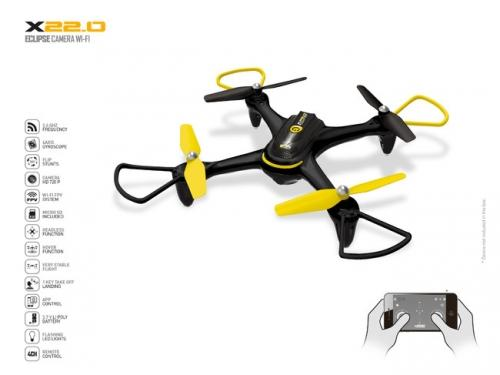 MONDO Ултра дрон ECLIPSE CAMERA WIFI R/C