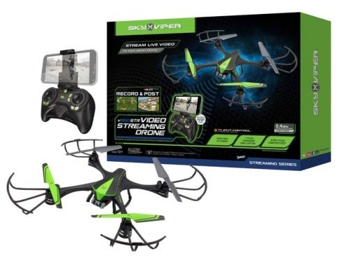 SKY VIPER Дрон с камера R/C VIDEO STREAMING V950ST 1526