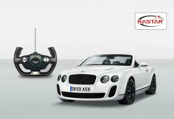 RASTAR Кола BENTLEY CONTINENTAL GT R/C 1:12