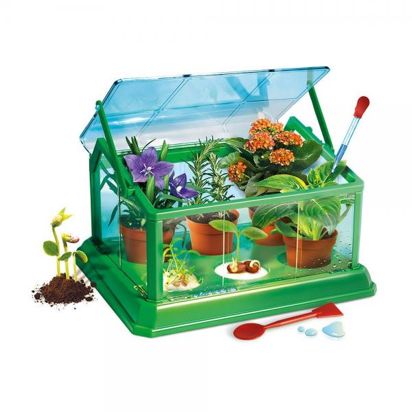 CLEMENTONI Комплект MY FIRST GREEN HOUSE SCIENCE PLAY 61280
