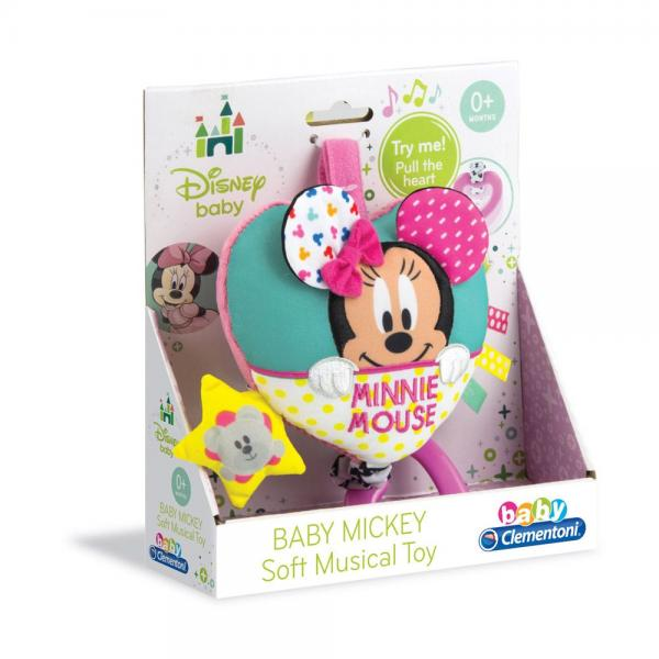 CLEMENTONI BABY Музикална кутия DISNEY MINNIE MOUSE 17212