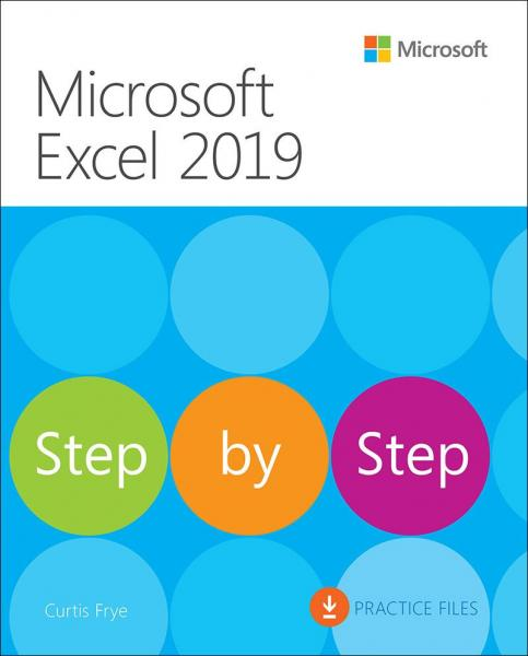 978Microsoft Excel 2019 - Step by Step9546563859