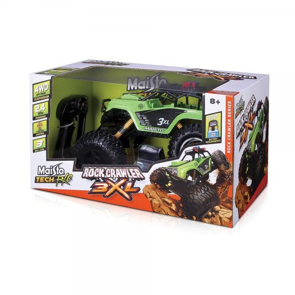 MAISTO TECH R/C Скален катерач ROCK CRAWLER 3XL 81157